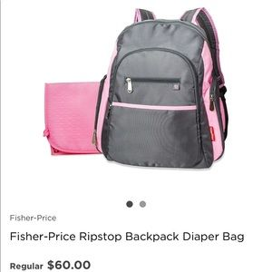 Fisher Prices Diaper Bag